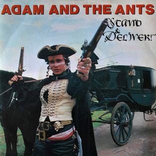 "Adam And The Ants - Stand And Deliver (7"") (VG-/VG-)"